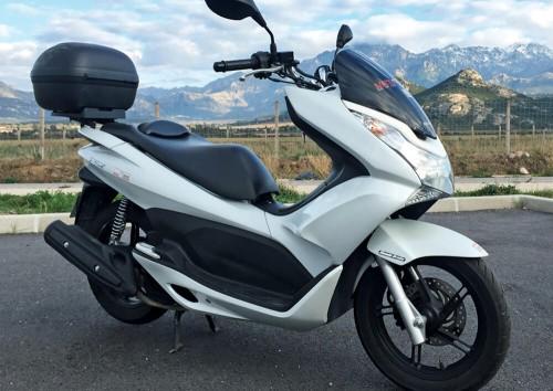 location scooter Calvi Corse Honda PCX 125