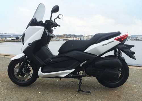 Location scooter Saint-Malo MBK Evolis 125 1