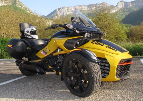 location trike Tullins Grenoble Can Am Spyder F3 S Daytona 4