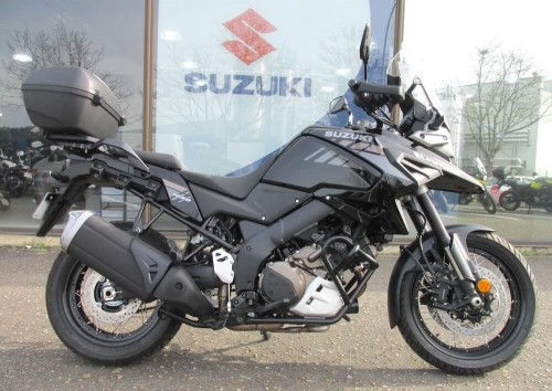 location moto Blois Suzuki Noir V-Strom DL 1050 12328