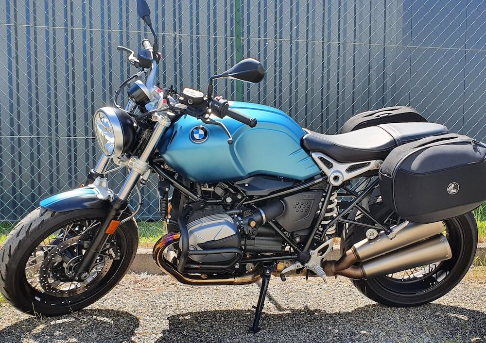 Toulouse BMW R Nine T Pure A2 motorcycle rental 14865