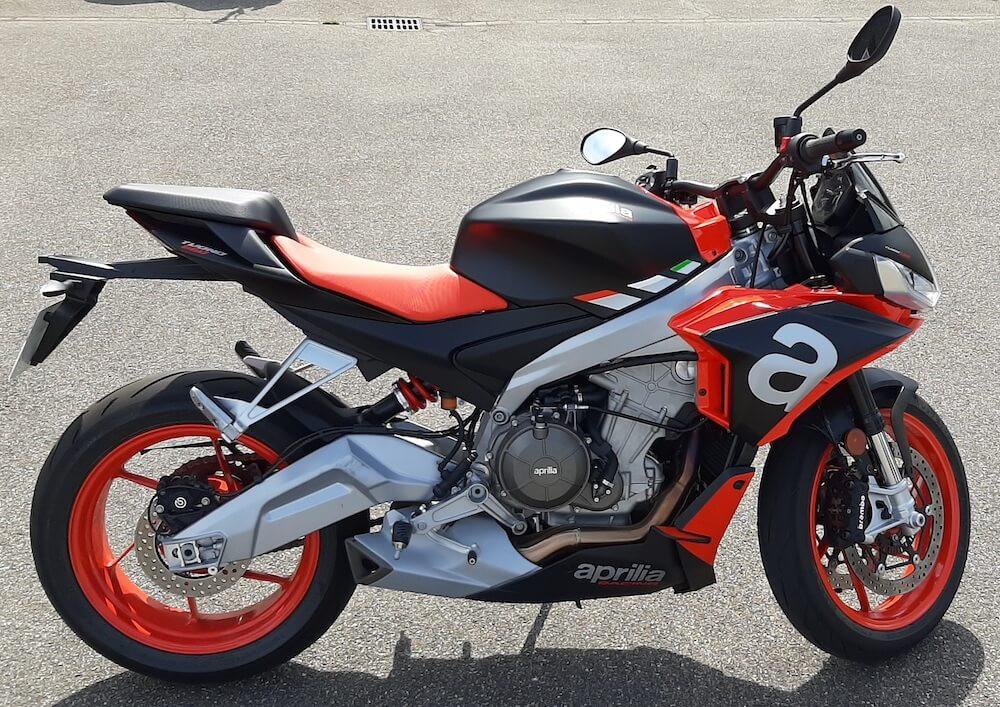 Mulhouse Aprilia TUONO 660 motorcycle rental 15028