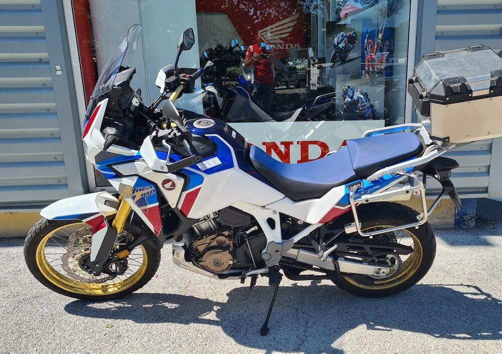 Montpellier Honda CRF 1100 Africa Twin ADV motorcycle rental 15759