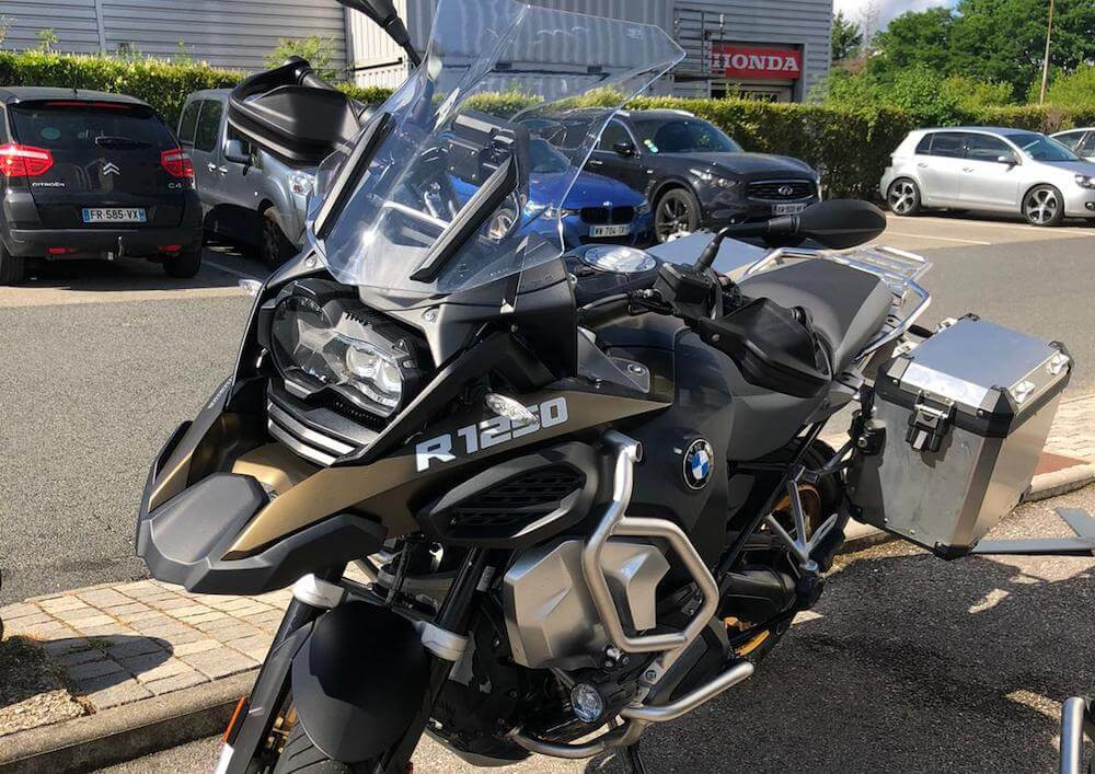 Valence BMW R 1250 GS ADVENTURE motorcycle rental 15271