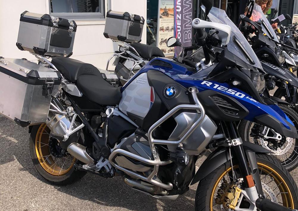Lyon BMW R 1250 GS ADVENTURE motorcycle rental 15048