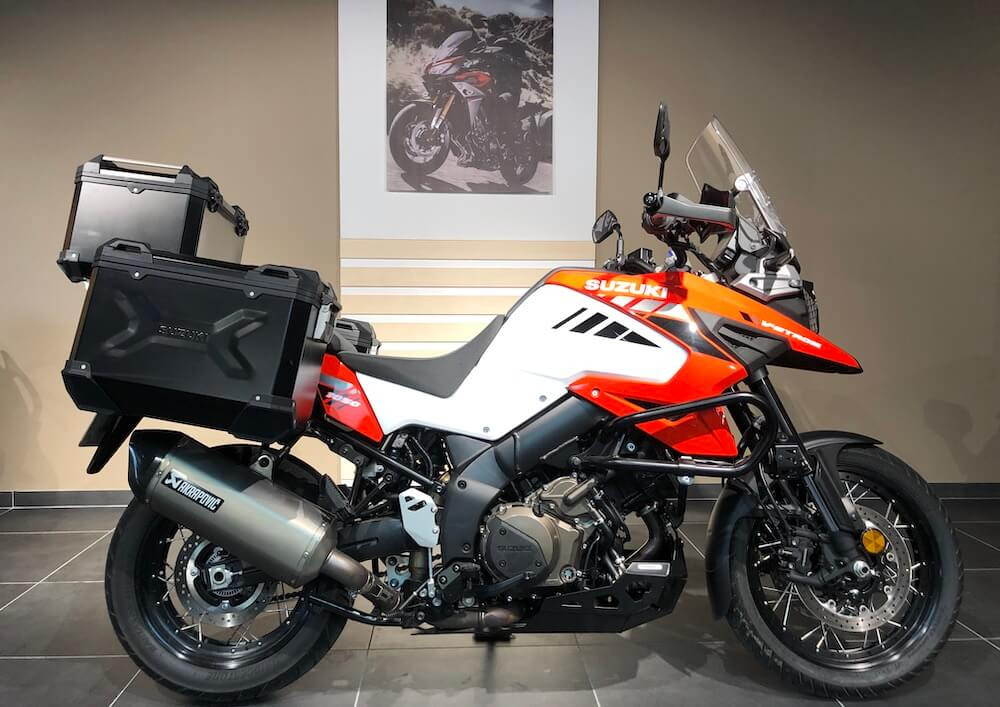Manosque Suzuki V-Strom DL 1050 motorcycle rental 14466