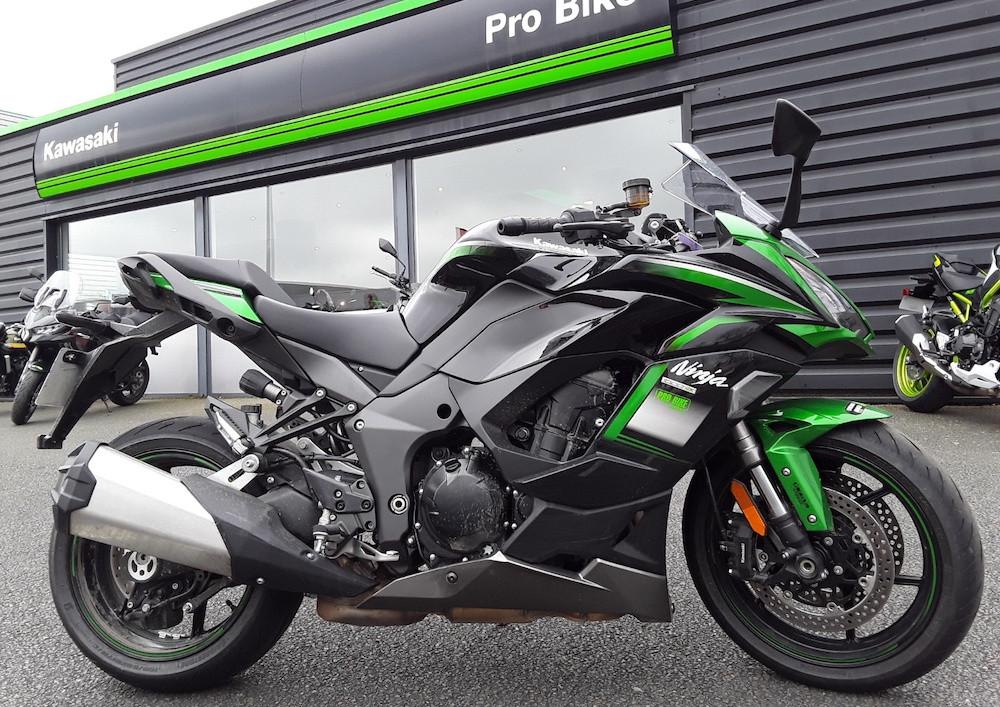 Angers Kawasaki Ninja 1000 SX motorcycle rental 15654