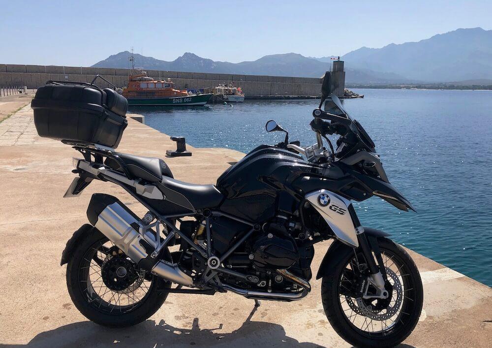 Calvi BMW R 1200 GS motorcycle rental 14972