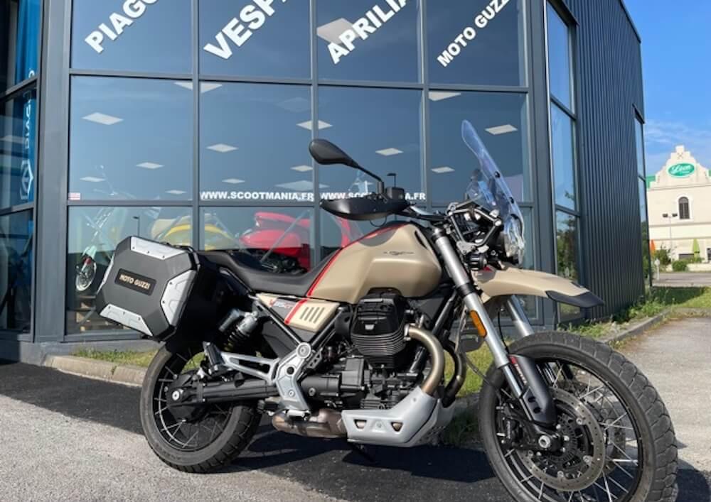 Nancy Guzzi V85 Travel motorcycle rental 14932