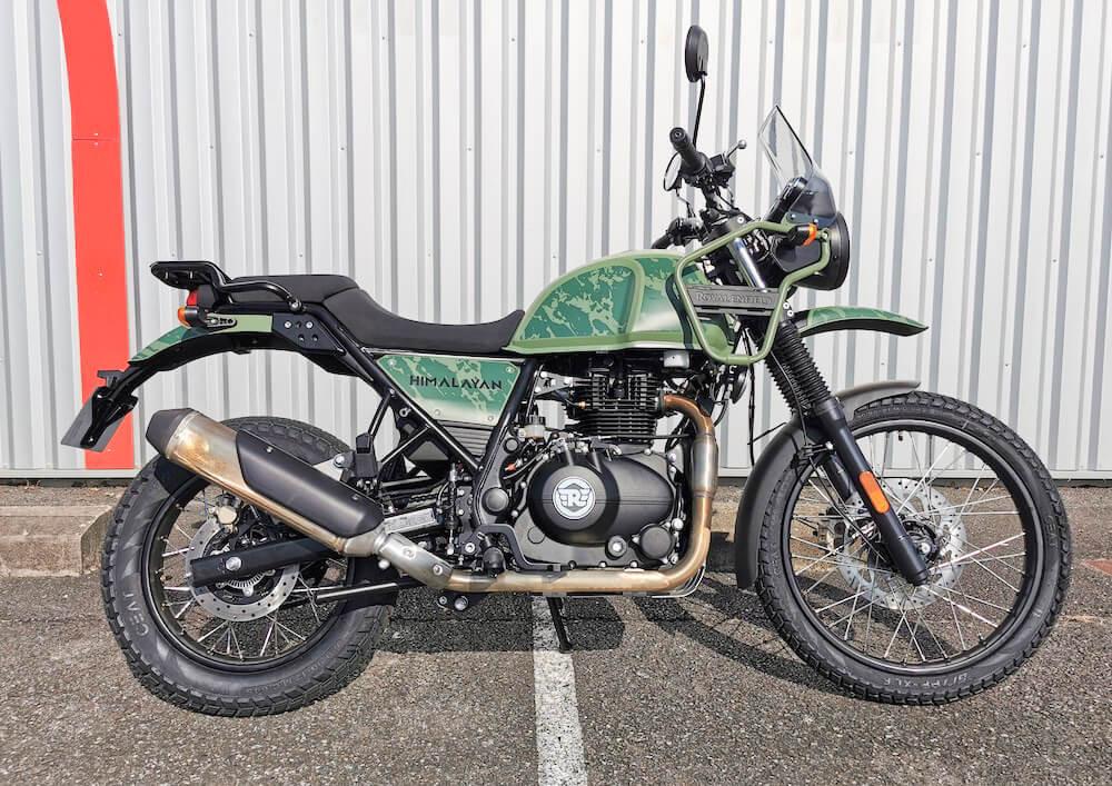 Pau Royal Enfield Himalayan motorcycle rental 15869
