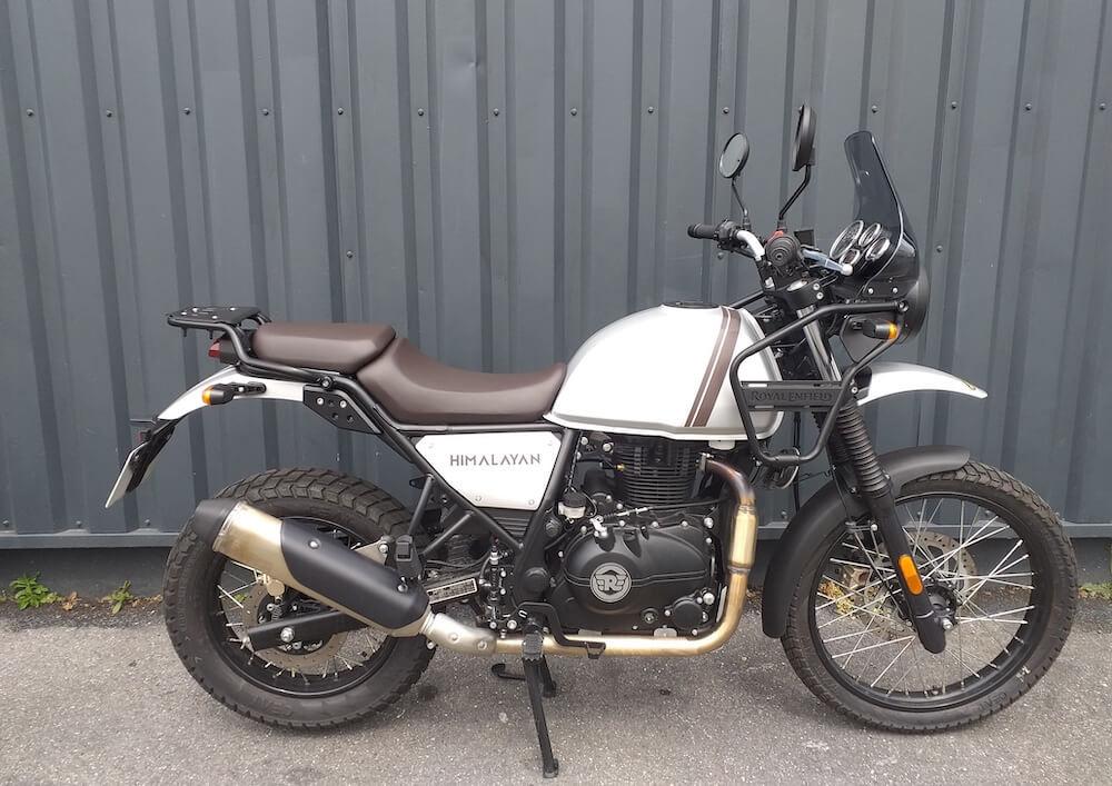 Pierrelaye Royal Enfield Himalayan 400 motorcycle rental 14627