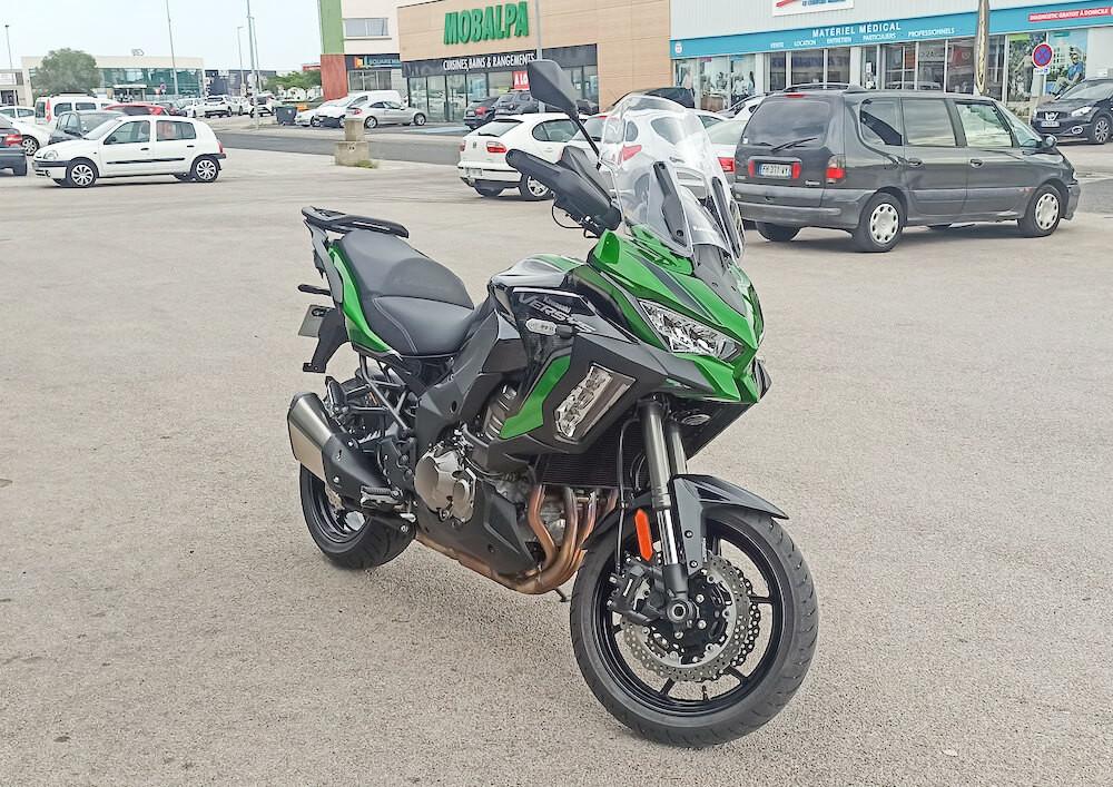 Perpignan Kawasaki Versys 1000 motorcycle rental 15955