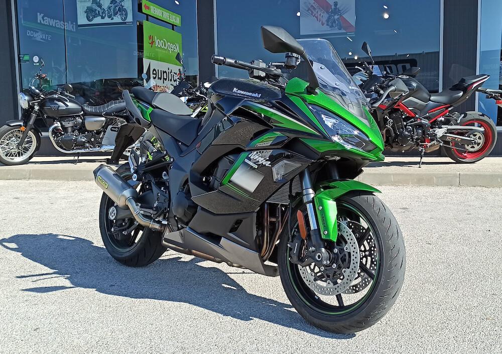 Perpignan Kawasaki Ninja 1000 SX motorcycle rental 15947