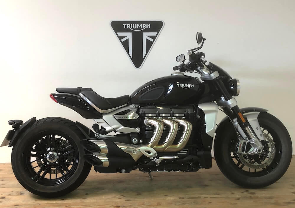 Strasbourg Triumph Rocket 3 R motorcycle rental 14822