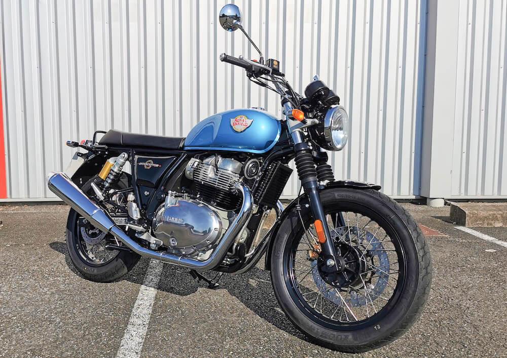 Pau Royal Enfield 650 Interceptor A2 motorcycle rental 15893