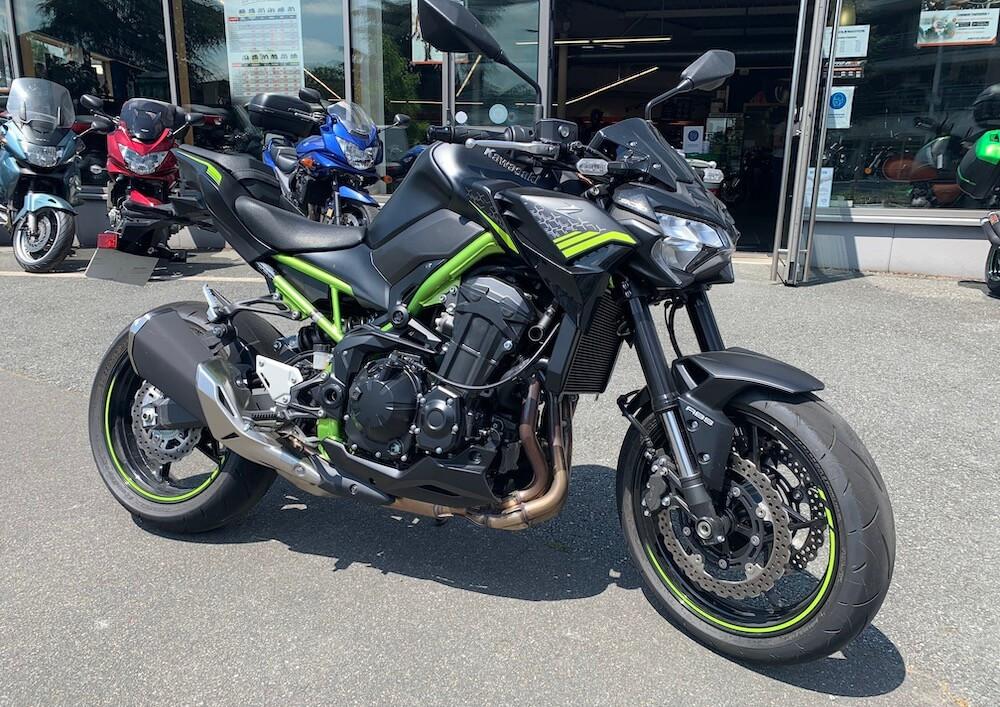 Cholet Kawasaki Z 900 motorcycle rental 14886