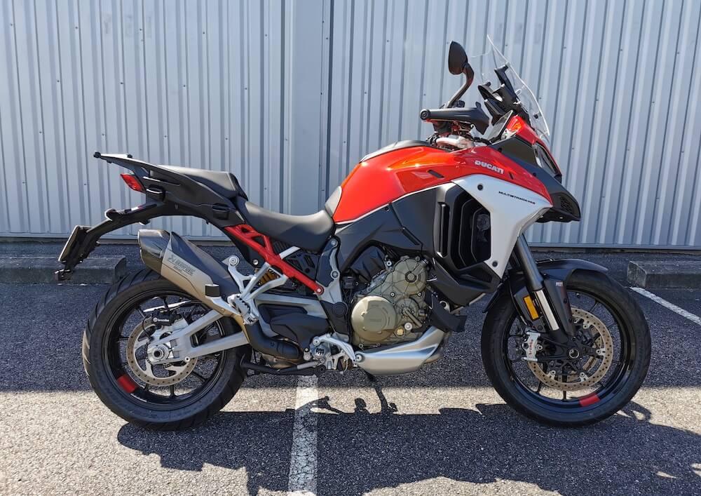 Pau Ducati Multistrada V4 motorcycle rental 15210