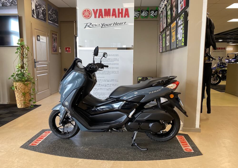 Evreux Yamaha NMAX 125 scooter rental 14616