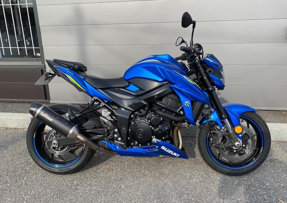 Manosque Suzuki GSX-S 750 A2 motorcycle rental 12483