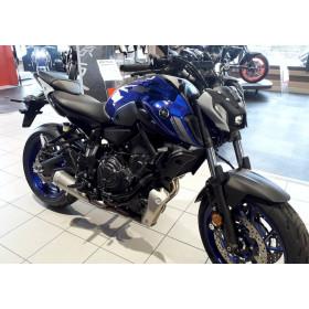 motorcycle rental Yamaha MT07 A2