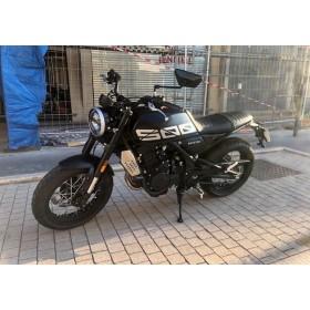 motorcycle rental Brixton Crossfire 500