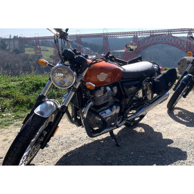 motorcycle rental Royal Enfield 650 Continental GT #1