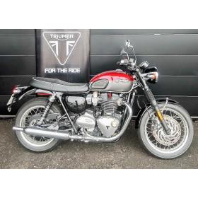 motorcycle rental Triumph Bonneville T120 Rouge