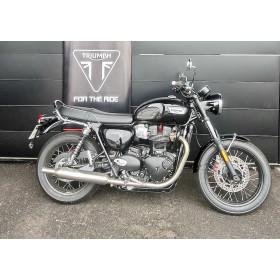 motorcycle rental Triumph Bonneville T100 A2