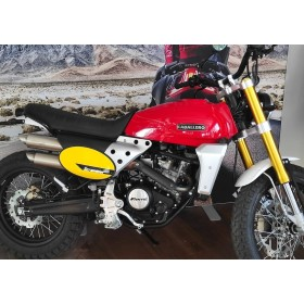 motorcycle rental Fantic 125 Scrambler