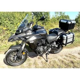 motorcycle rental Benelli TREK 502