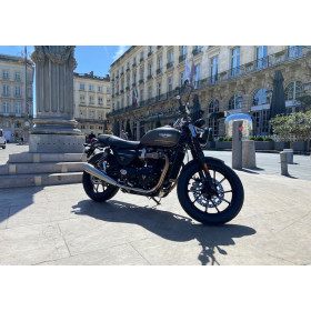 motorcycle rental Triumph Street Twin 900 A2