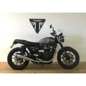motorcycle rental Triumph Street Twin A2