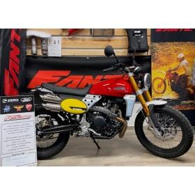 motorcycle rental Fantic 500 Scrambler