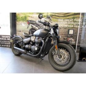 motorcycle rental Triumph Bonneville 1200 Bobber Black