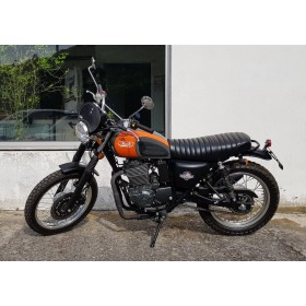 motorcycle rental Mash 400 Scrambler