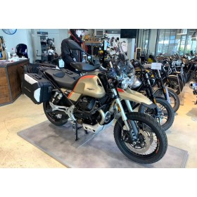 motorcycle rental Guzzi V85 TT