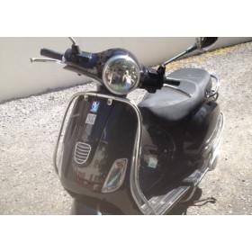 motorcycle rental Piaggio 125 Vespa Noir