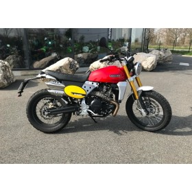 motorcycle rental Fantic Caballero Scrambler 500 Rouge