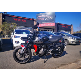 motorcycle rental Triumph Trident 660