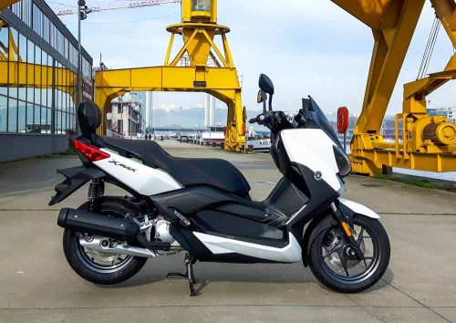Location Yamaha 125 Xmax Rouen 1