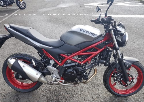 Location moto Angers Suzuki SV 650 1