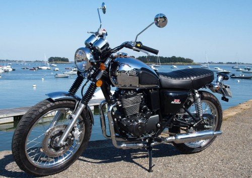 Location moto Vannes Mash 125 Scrambler 1