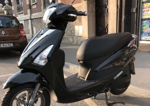 location scooter Le Treport Yamaha 125 D'elight 1