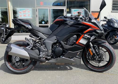 Cholet Kawasaki Ninja 1000 SX motorcycle rental 14595