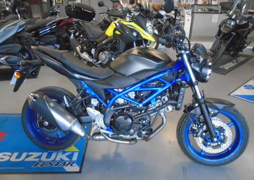 Rodez Suzuki SV 650 motorcycle rental 14764