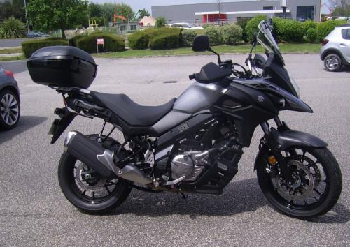 Cherbourg Suzuki DL 650 Vstrom motorcycle rental 14556