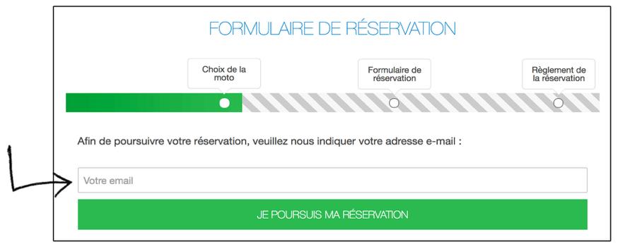 Finalisez votre réservation 1