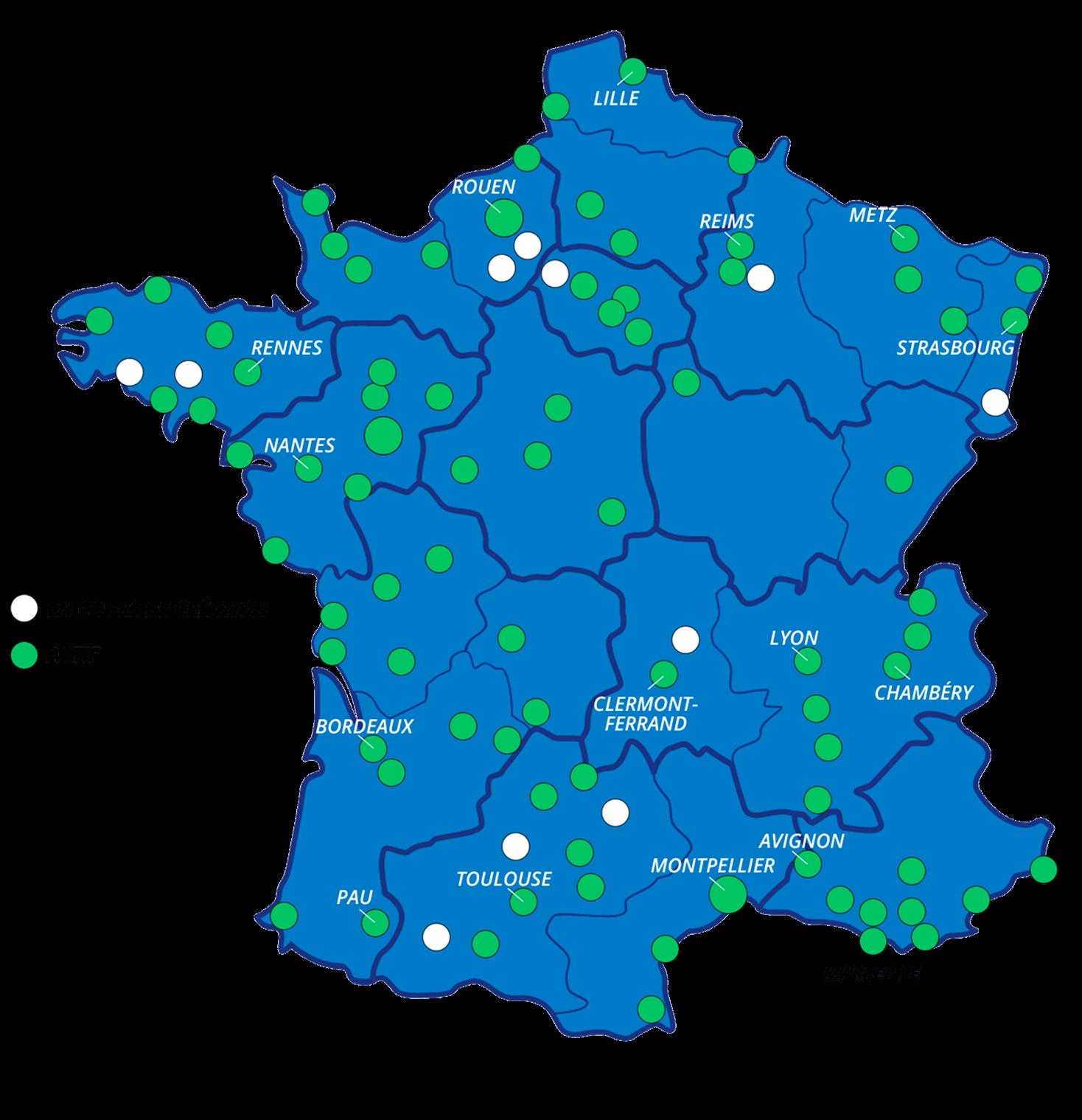 Des loueurs moto partout en France